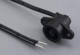 Cable, 305 mm, 5.5x2.1 mm 50-00257 plug, panel mnt to stripped tinned, 18 AWG, 30-00007, custom