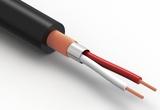 Wire, 2C BC, 28 AWG, 300V, 80C, 3.8 mm, spiral + foil, PVC