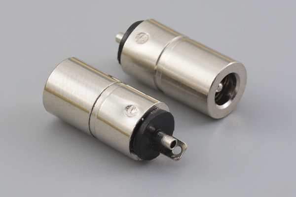 Connector, dc jack, 3.8x1.35xL16.5 mm, molding style