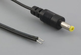 Cable, 1830 mm, 4.0x1.7x10 mm, 50-00136 dc plug to stripped tinned, 24 AWG, 30-00003 wire