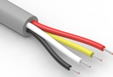 Wire, 4C TS, 26 AWG, UL2464, 300V, 80C, 4.25 mm, VW-1, PVC, 91A, gray