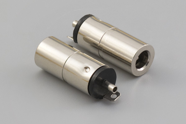 Connector, dc jack, 3.35x0.9xL16.5 mm, molding style