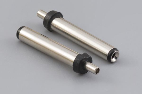 Connector, dc plug, 3.0x1.1xL20.0 mm, molding style