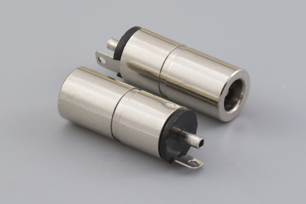 Connector, dc jack, 3.5x1.35xL16.5 mm, molding style