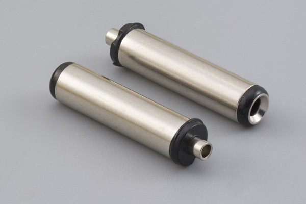 Connector, dc plug, 5.0x2.1xL22.5 mm, molding style