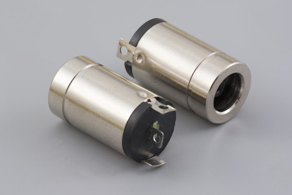 Connector, dc jack, 5.9x3.0x1.1xL18.5 mm, EIAJ-4, molding style