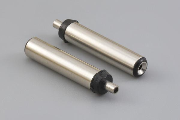Connector, dc plug, 3.8x1.05xL20 mm, molding style