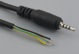 Cable, 1830 mm, 4C 2.5mm 50-00007 plug to stripped tinned, 26 AWG, 30-00413