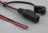 Cable, 1830 mm, 50-00550 SAE to blunt cut, 16 AWG, UL2651, 30-00792, R-B wire, red to SAE pin